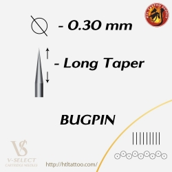 Magnum Long Taper-Bugpin - EZ® V-System Cartridge Needles