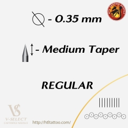 Magnum Medium Taper - EZ® V-System Cartridge Needles